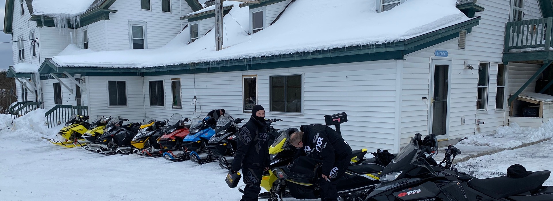 Snowmobiling, Skiing, and Snowshoeing in Maine